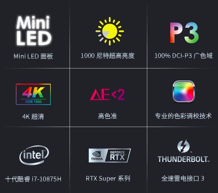 微星创造者 Mini LED屏幕剖析  第8张