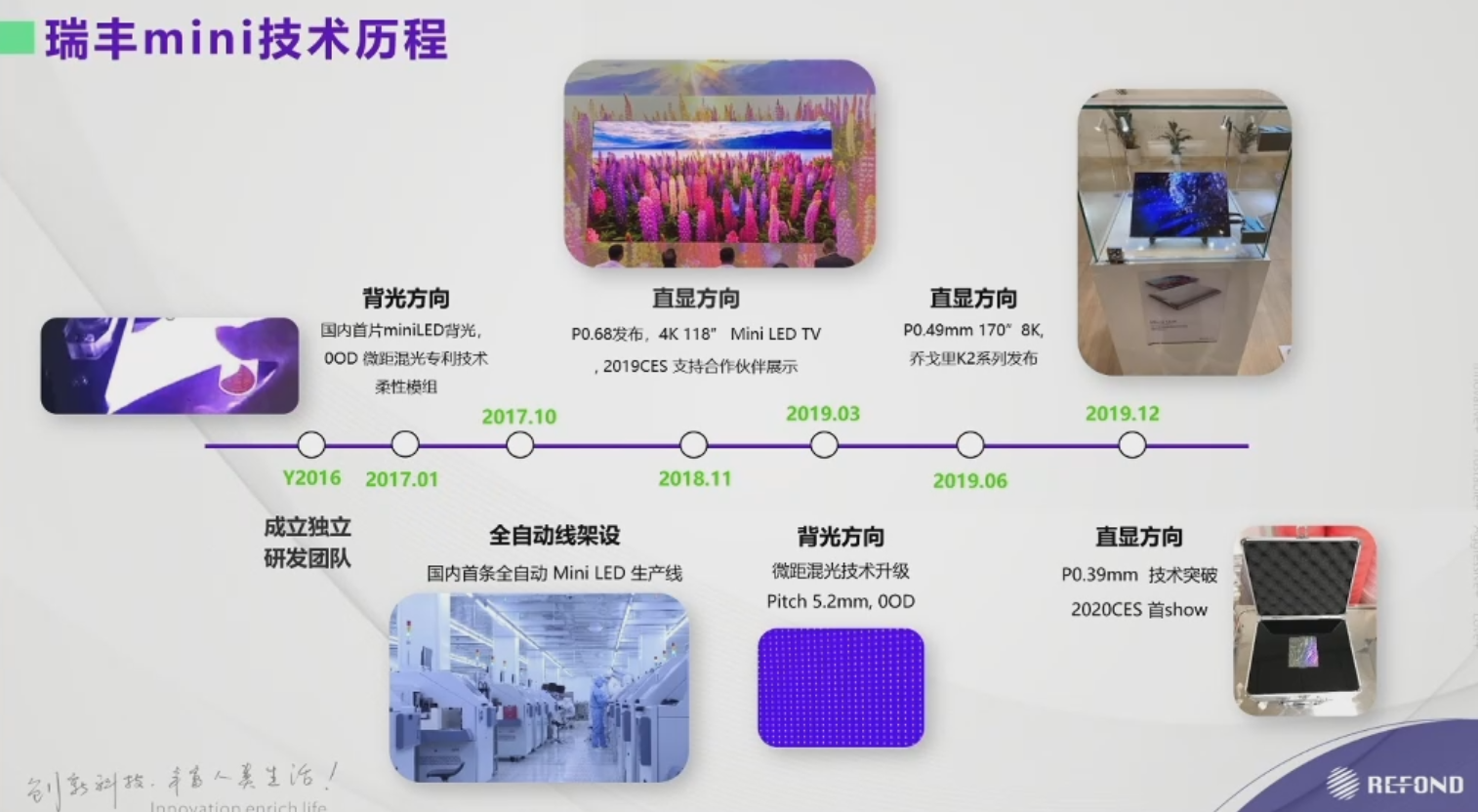 2020新型显示研讨会--瑞丰光电MiniLED分享  第10张