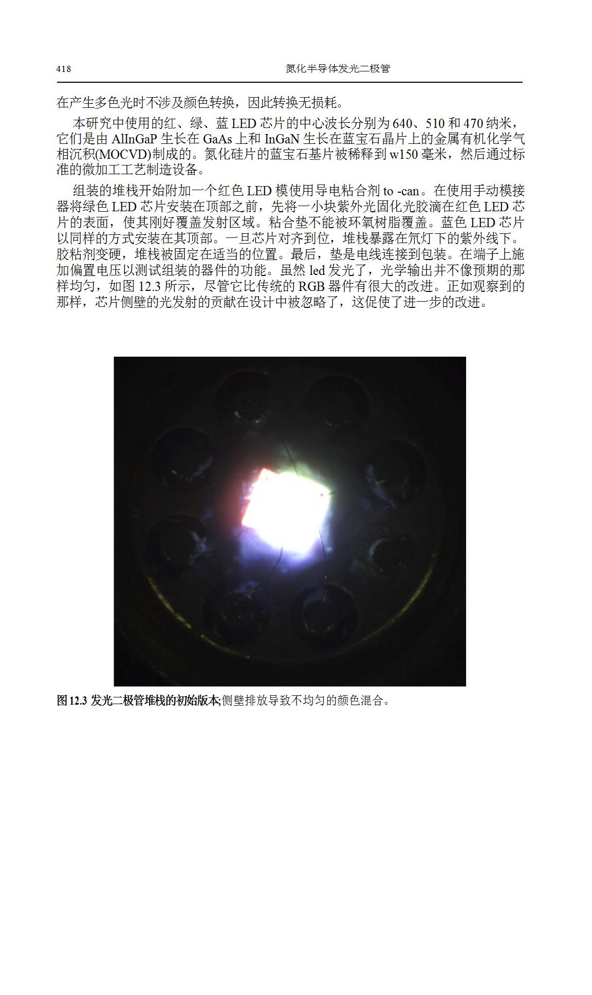 LED调色和像素化MicroLED阵列研究  第4张
