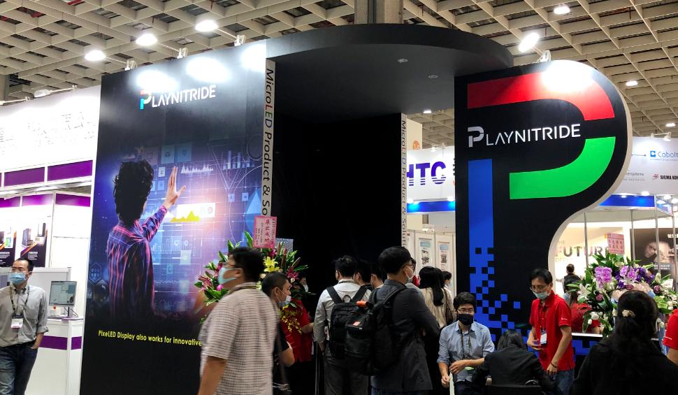 群创,錼创展示新型Micro LED显示器,台北光电展直击!  第5张