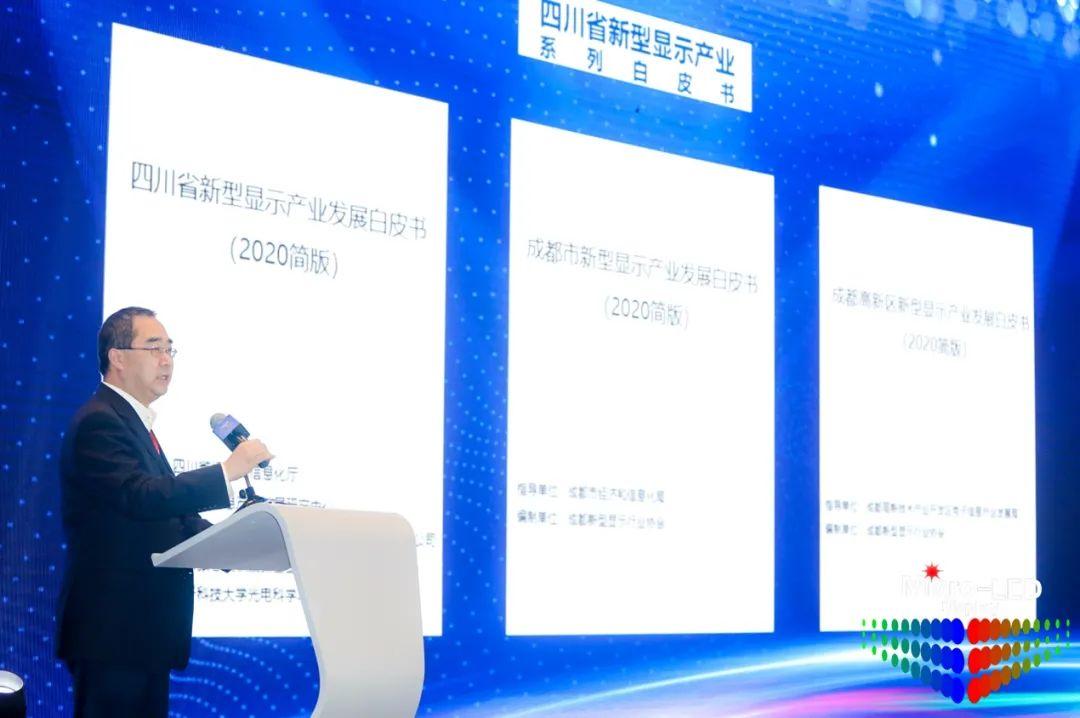 2020第四届中国(国际)Micro-LED显示高峰论坛暨第二届成都新型显示合作洽谈会胜利召开  第8张