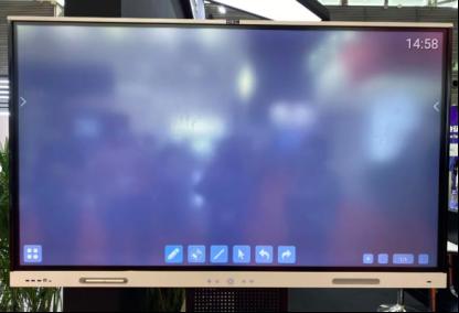 智慧商显、Mini LED 亮点汇总,全触与显示展直击  第13张