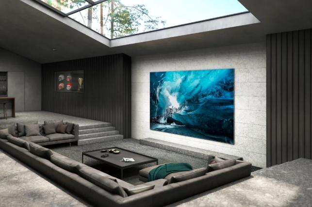 三星发布110寸MicroLED面板电视:不烧屏、99.99%屏占比  第2张