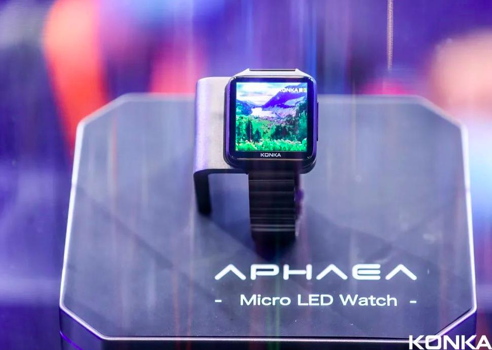 康佳发布全球首款MicroLED手表  第3张