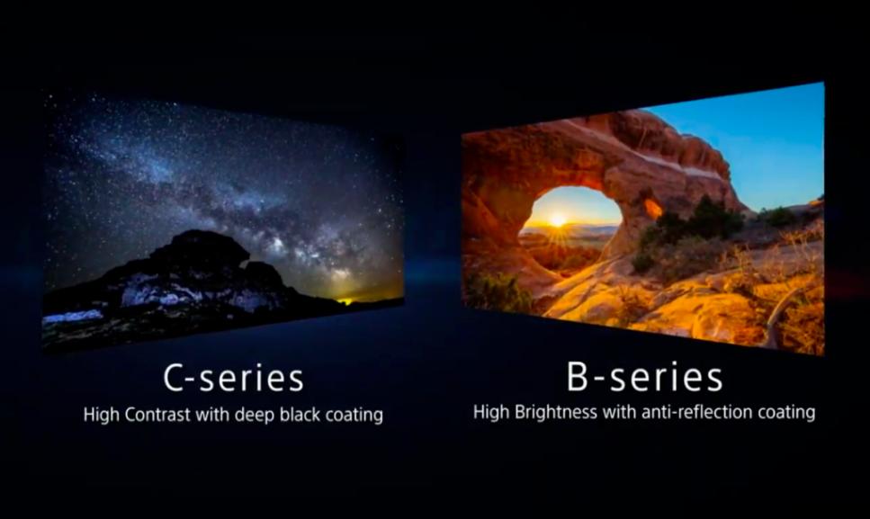 SONY发布两款Micro LED 显示屏