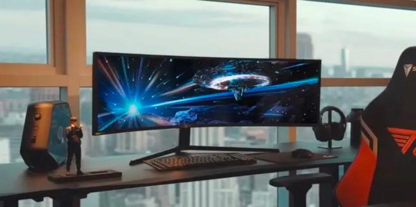 三星MiniLED带鱼屏显示器即将面世  第1张