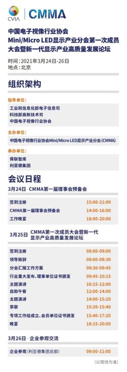 中国电子视像行业协会Mini/MicroLED显示产业分会于3月25日召开  第2张