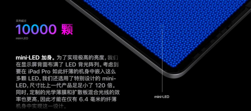 苹果发布MiniLED后,产业链动作不断