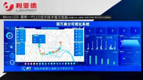 """利亚德携MicroLED系列显示产品亮相""""中国高速公路信息化大会""""  第2张"""