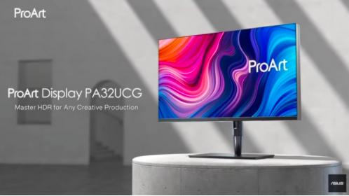 华硕32英寸MiniLED显示器上市