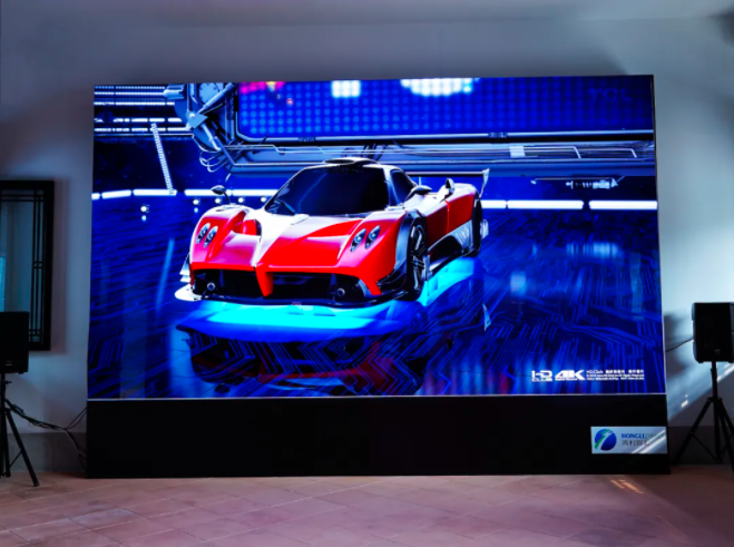 鸿利Mini LED半导体显示技术产品亮相广州塔和粤剧博物馆  第2张