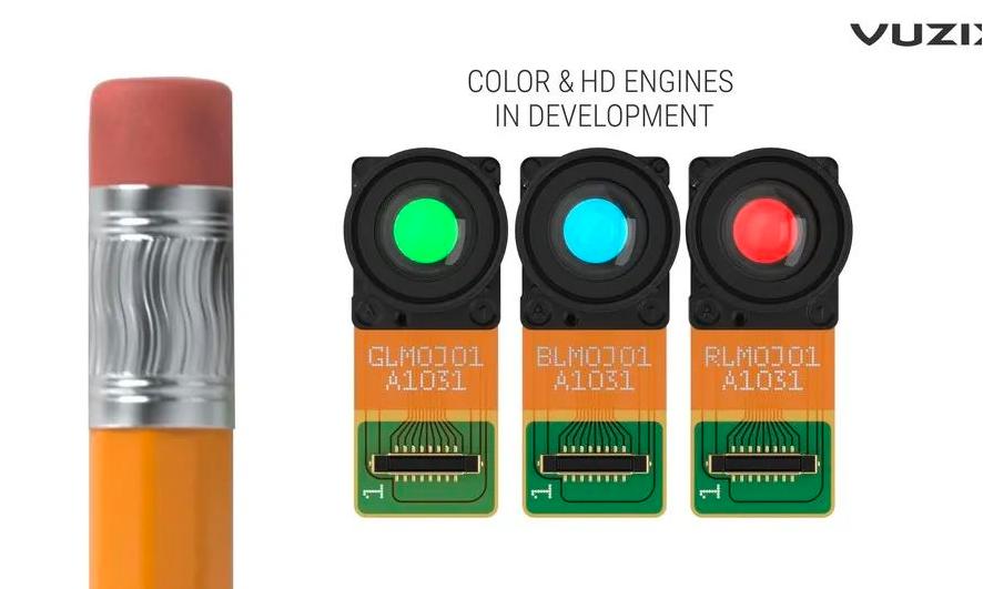 像素间距达1um,Vuzix推出MicroLED投影引擎  第2张