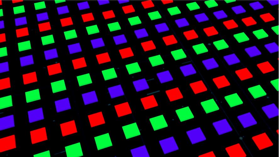 维信诺MicroLED最新成果将出炉:TFT背板、巨量转移、驱动算法及模组形态......