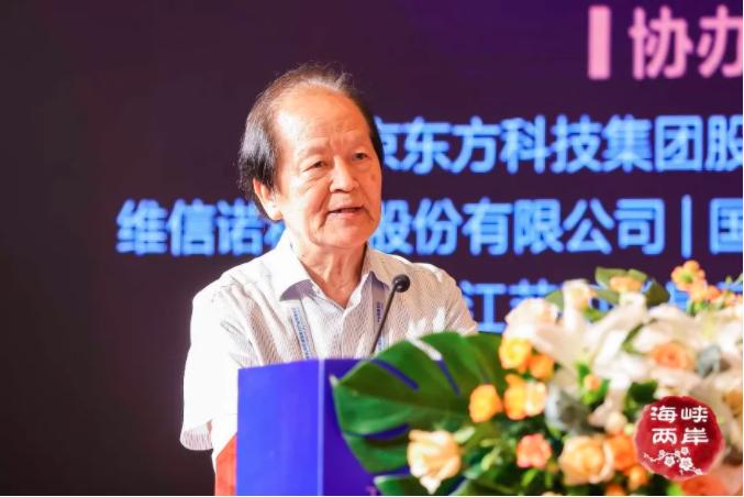 创新强链,合作共赢! 2021第八届海峡两岸(南京)新型显示产业高峰论坛成功举办  第5张