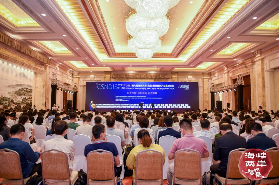 2021第八届海峡两岸(南京)新型显示产业高峰论坛成功举办  第2张
