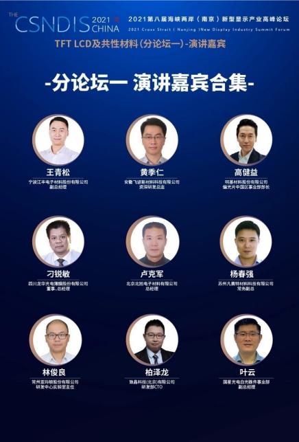 2021第八届海峡两岸(南京)新型显示产业高峰论坛成功举办  第19张