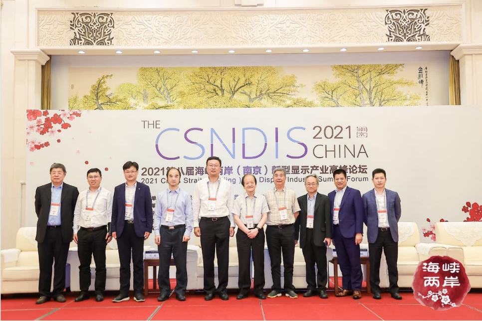 2021第八届海峡两岸(南京)新型显示产业高峰论坛成功举办  第22张
