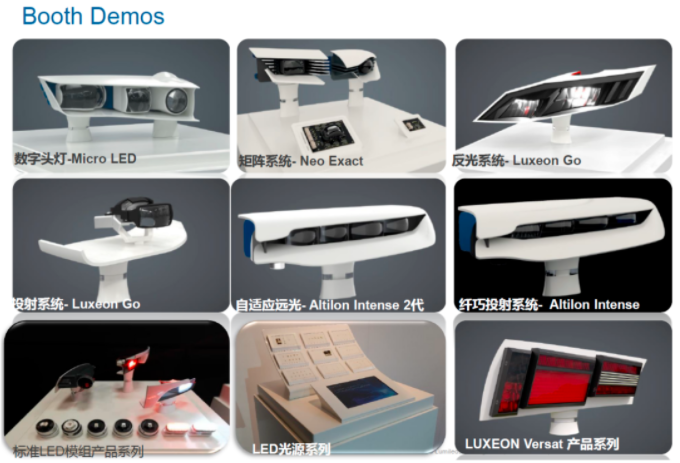 MiniLED器件,车规级光源,欧司朗、首尔、亮锐、晶科、鸿利智汇、统明亮、瑞丰等10家亮相ALE  第4张