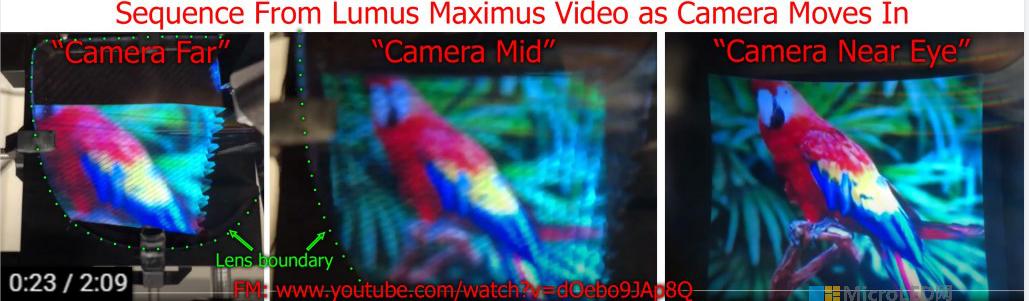 Lumus Maximus阵列光波导与HoloLens2对比  第19张