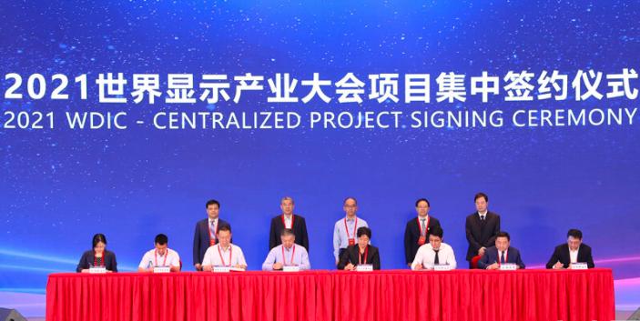 2021世界显示产业大会在安徽合肥开幕  第4张