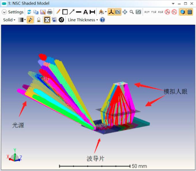 对标WaveOptics的AR镜片,珑璟光电正式发布衍射光波导模组  第7张