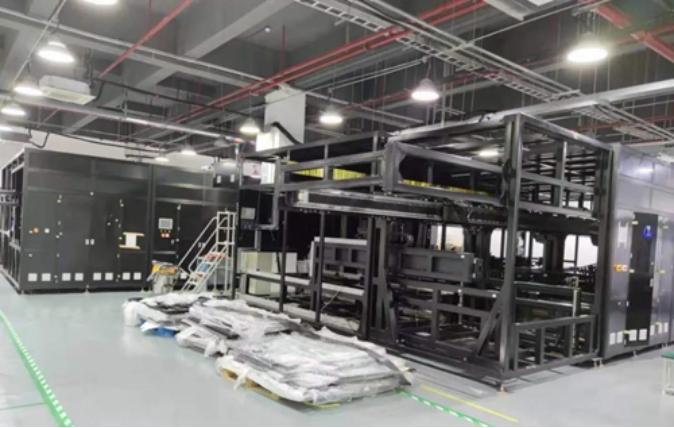 凌云光首台MiniLED AOI检测设备成功通过客户厂验