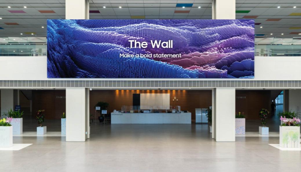 三星MicroLED再更新,16K,1000英寸The wall   第2张